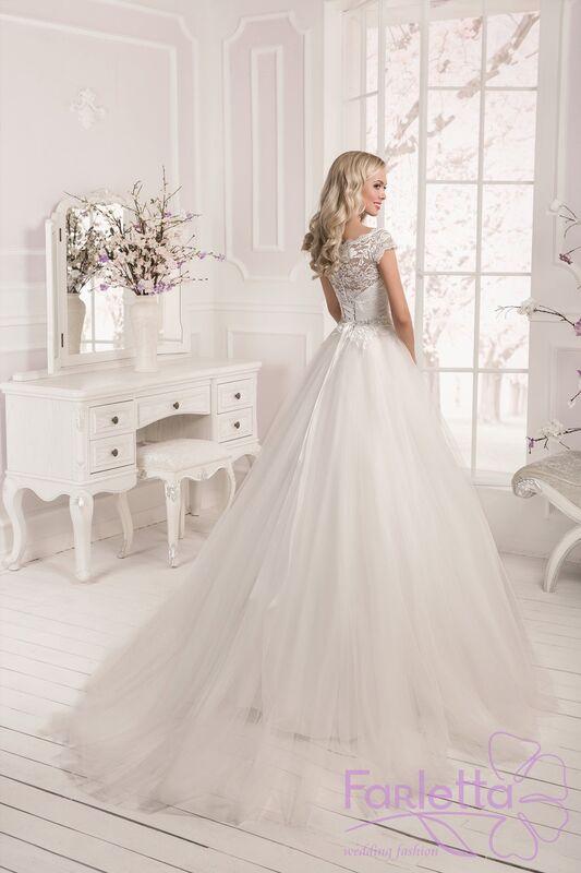 Свадебное платье напрокат Farletta Платье свадебное Laur - фото 3