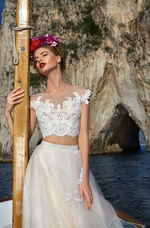 Свадебное платье напрокат City Bride Свадебное платье VS13518 - фото 1