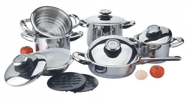 Подарок GGS Solingen Набор посуды «Komfort de Luxe», 13 предметов, 270-212 - фото 1