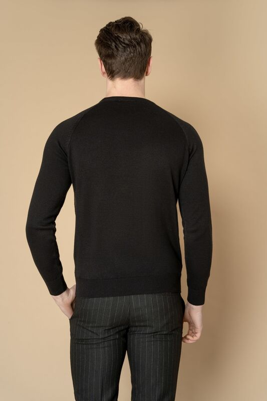 Кофта, рубашка, футболка мужская Etelier Джемпер мужской  tony montana T1031 - фото 3