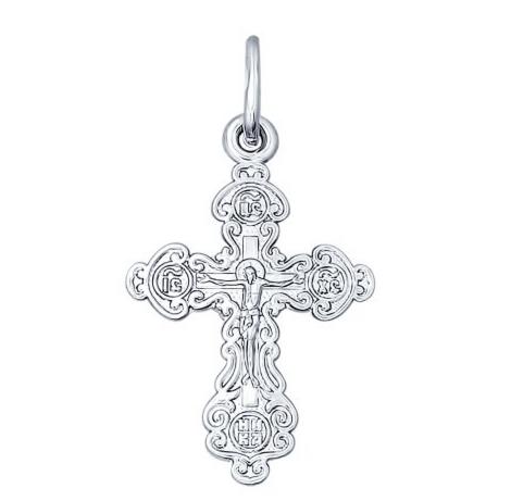 Ювелирный салон Sokolov Крест из серебра 94120109 - фото 1