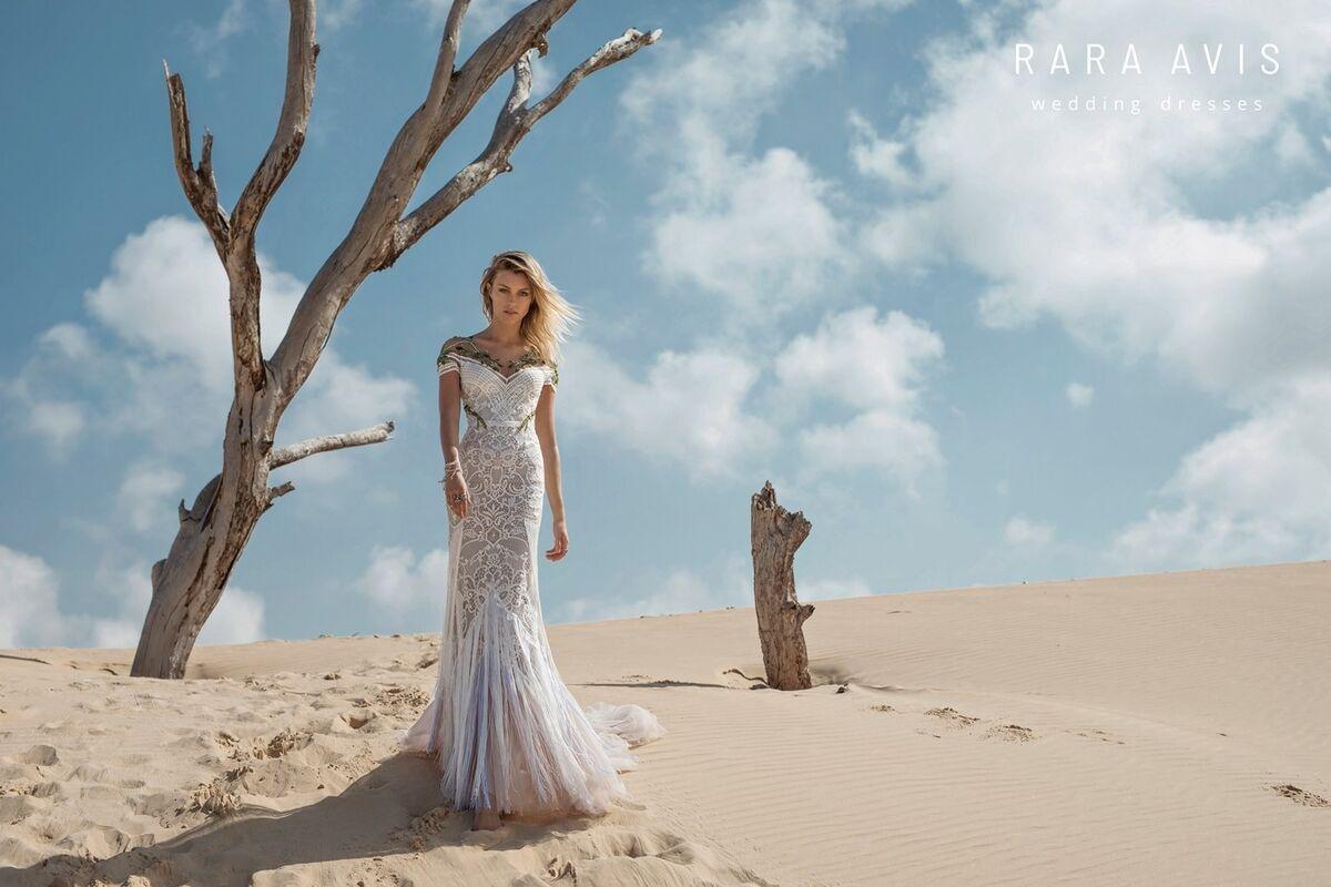 Свадебный салон Rara Avis Платье свадебное Wild Soul Tirion - фото 5