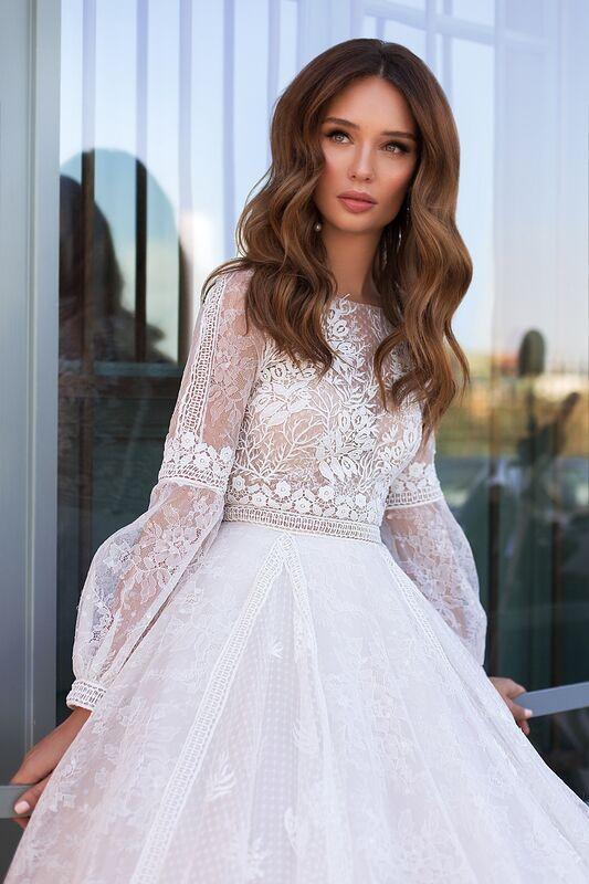 """Свадебное платье напрокат ALIZA свадебное платье """"Frozinny"""" - фото 2"""
