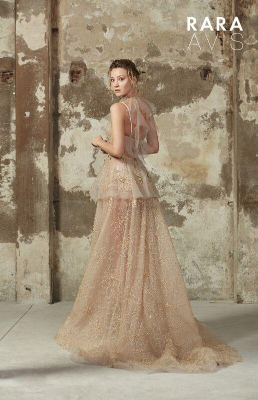 Свадебное платье напрокат Rara Avis Платье свадебное Floral Paradise Los - фото 3