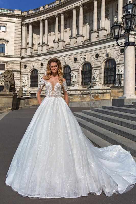 Свадебный салон Crystal Свадебное платье Amanda - фото 1