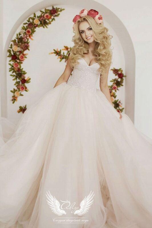 Свадебный салон ALIZA Свадебное платье «Sonata» Soffito - фото 1