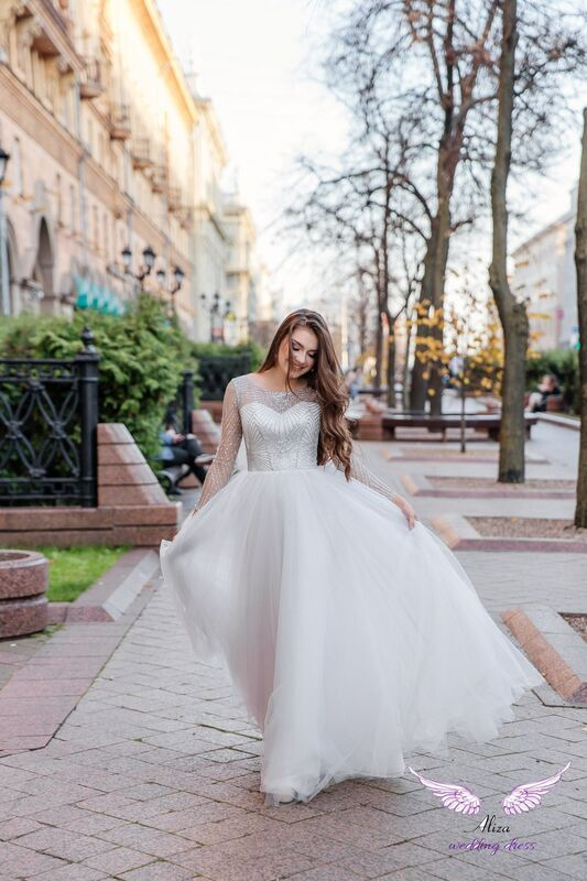 "Свадебный салон ALIZA Вечернее платье прокат  ""Sabina"" - фото 3"