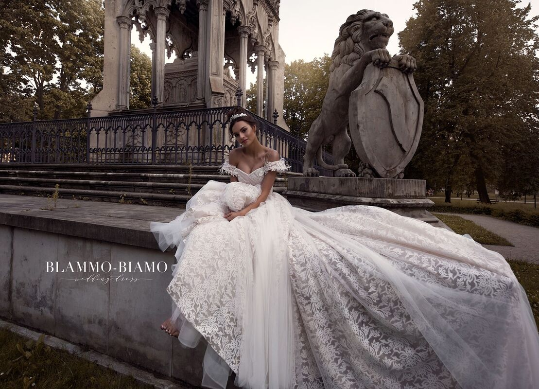 Свадебный салон Blammo-Biamo Свадебное платье The Rice  Lelei - фото 2