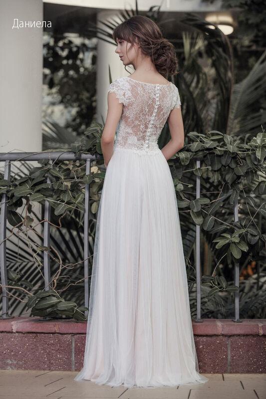 Свадебное платье напрокат Vintage Платье свадебное «Даниела» - фото 2