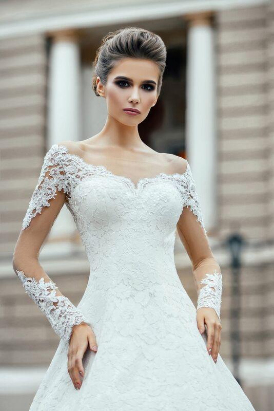 Свадебное платье напрокат Nicole Платье свадебное Agata - фото 2