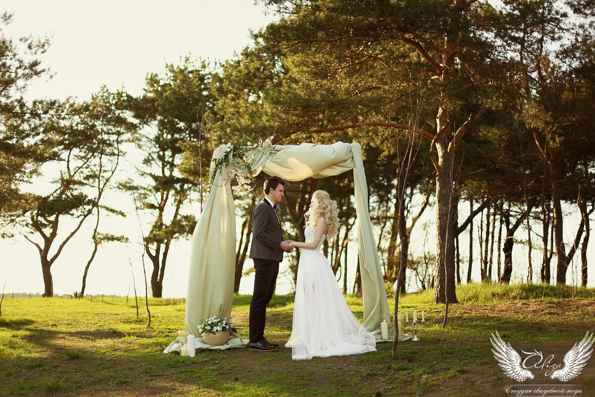Свадебное платье напрокат ALIZA Платье свадебное «Ailinna» Soffito - фото 4