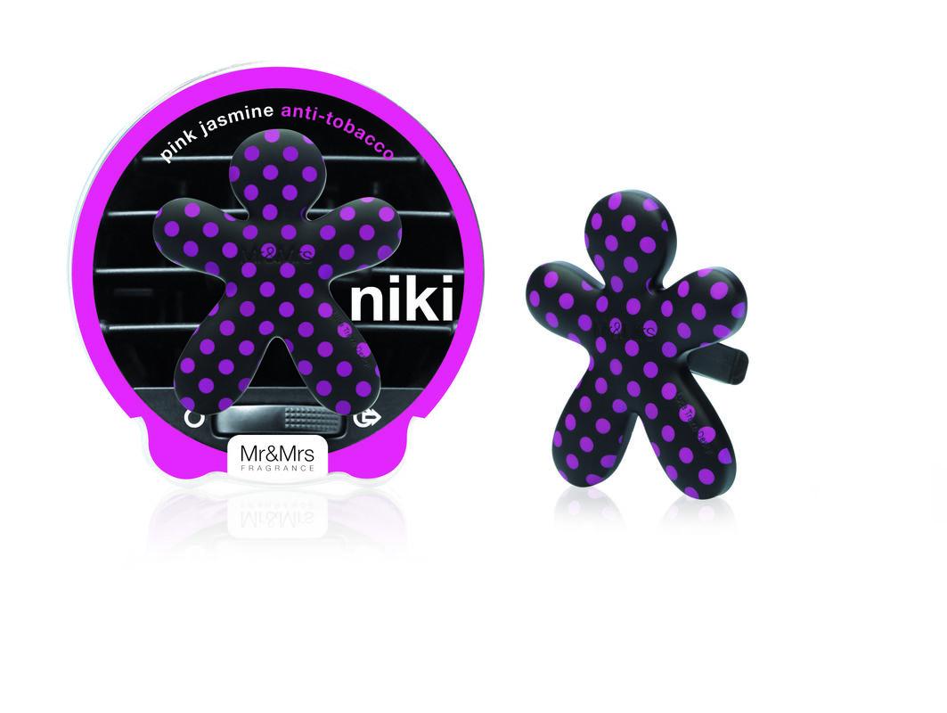 Подарок Mr & Mrs Fragrance Ароматизатор воздуха для автомобиля Niki - фото 11