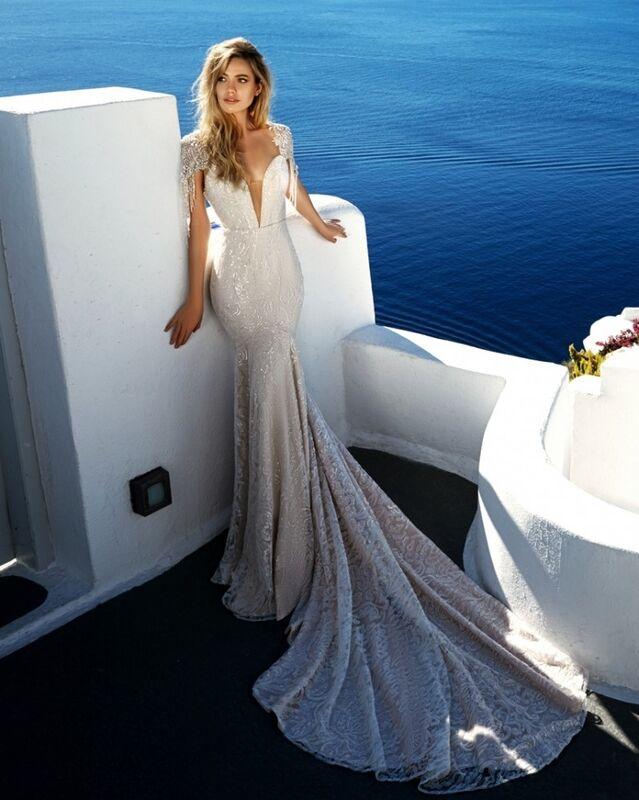 Свадебное платье напрокат Eva Lendel Платье свадебное Bler - фото 1