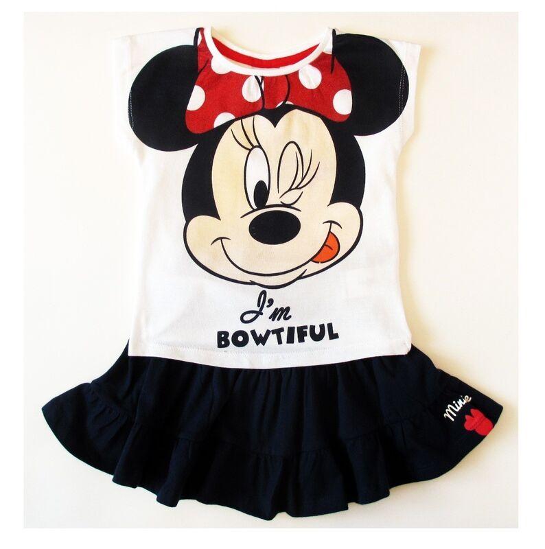 Платье детское Sun City Комплект для девочки Минни OE1174/1 - фото 1