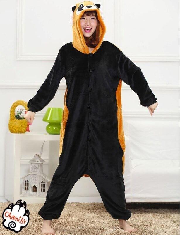 Подарок Taicang Soft Пижама кигуруми «Красная Панда (Енот)» - фото 1