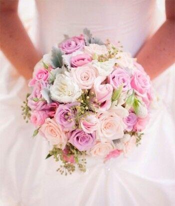 Магазин цветов Ветка сакуры Свадебный букет № 102 - фото 1