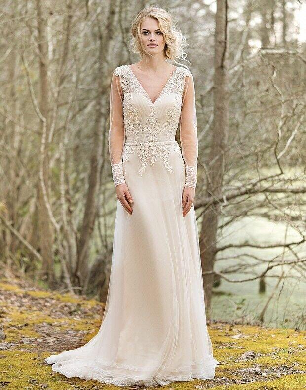 Свадебное платье напрокат Lillian West Свадебное платье Ainsley - фото 3