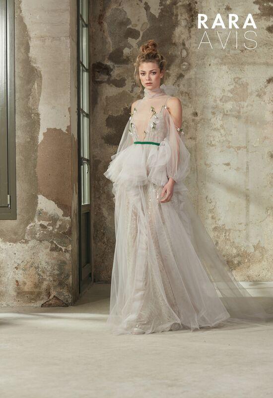 Свадебный салон Rara Avis Свадебное платье Floral Paradise  Riki - фото 1