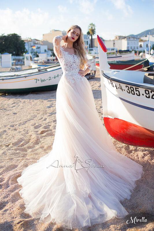 Свадебный салон Anna Sposa Свадебное платье «Mirella» из коллекции SEA DIAMOND 2017 - фото 1