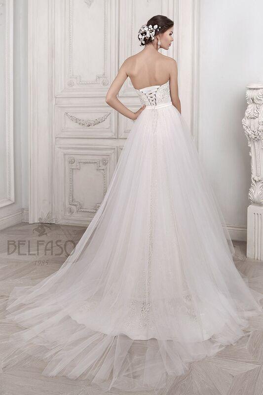 Свадебное платье напрокат Belfaso Платье свадебное Djovanna - фото 5