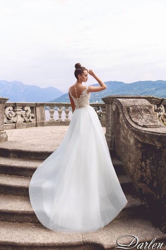 Свадебный салон Bonjour Galerie Свадебное платье Darlen из коллекции Royal Luxury - фото 2