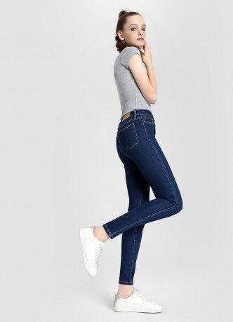 Брюки женские O'STIN Базовые суперузкие джинсы с высокой посадкой LPD109-D3 - фото 2