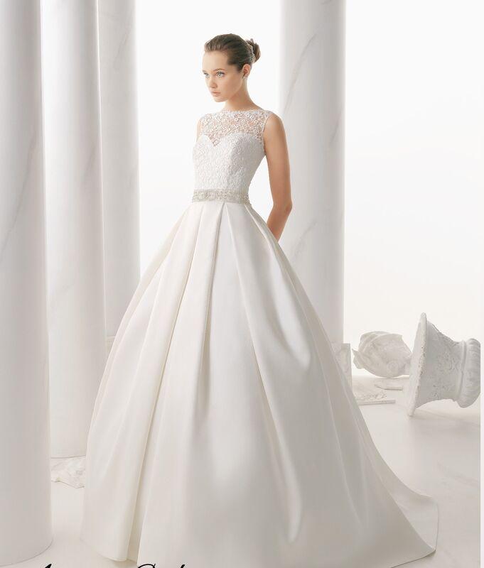 Свадебное платье напрокат Rosa Clara Платье свадебное Niquel - фото 1