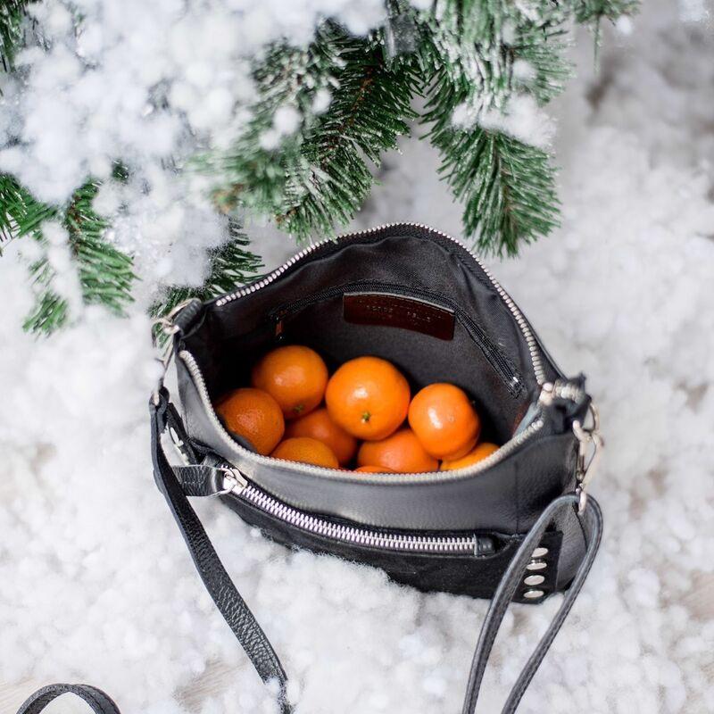 Магазин сумок Vezze Кожаная женская сумка C00429 - фото 4