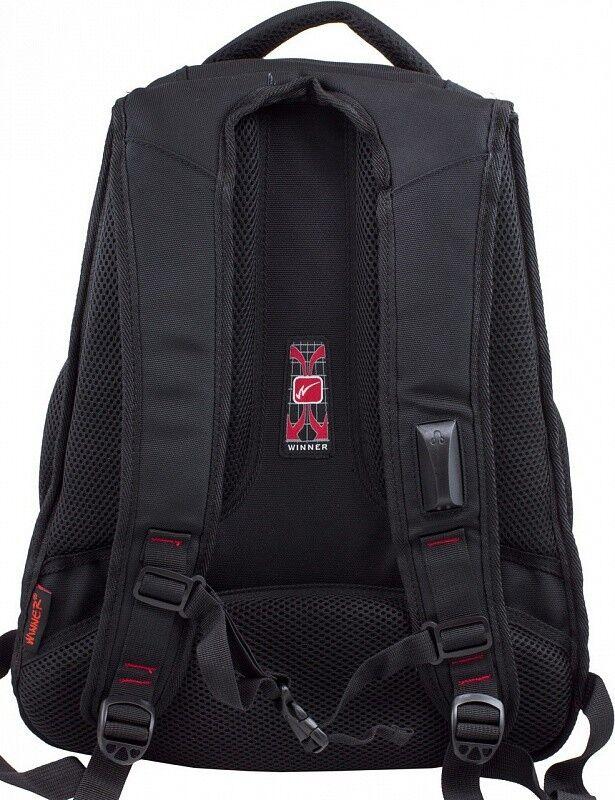 Магазин сумок Winner Рюкзак школьный 391 - фото 3