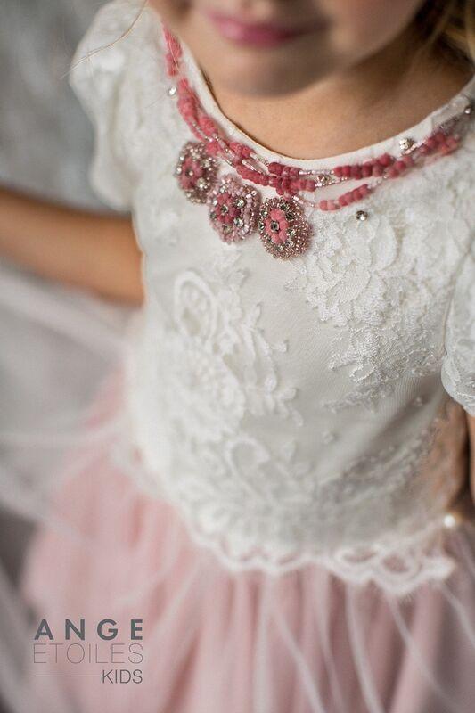 Вечернее платье Ange Etoiles Детское платье Kids Melissa - фото 4