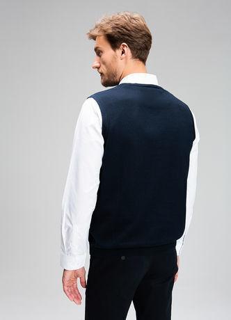 Пиджак, жакет, жилетка мужские O'stin Базовый мужской жилет MK6V43-69 - фото 3