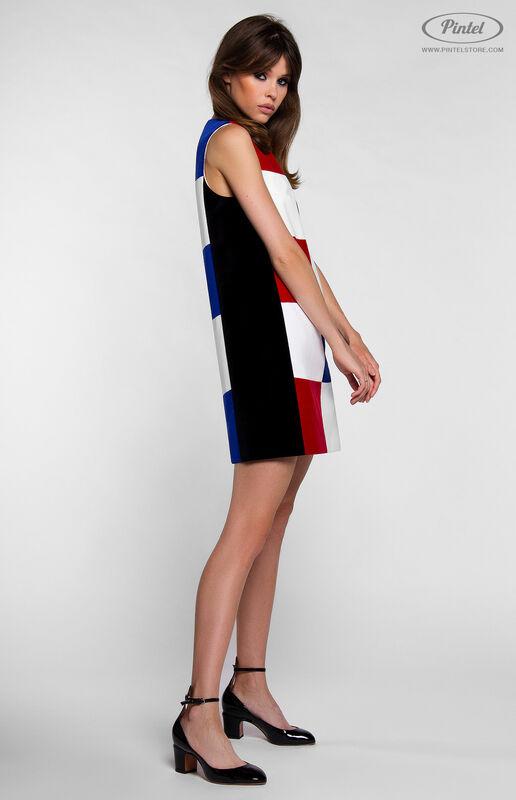 Платье женское Pintel™ Комбинированное мини-платье PATRÍCIA - фото 3
