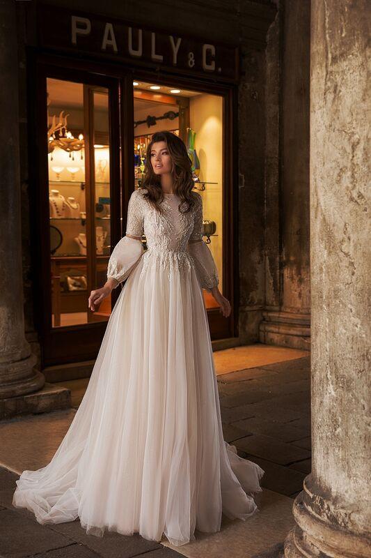 """Свадебное платье напрокат ALIZA свадебное платье  """"Nerinny"""" - фото 3"""