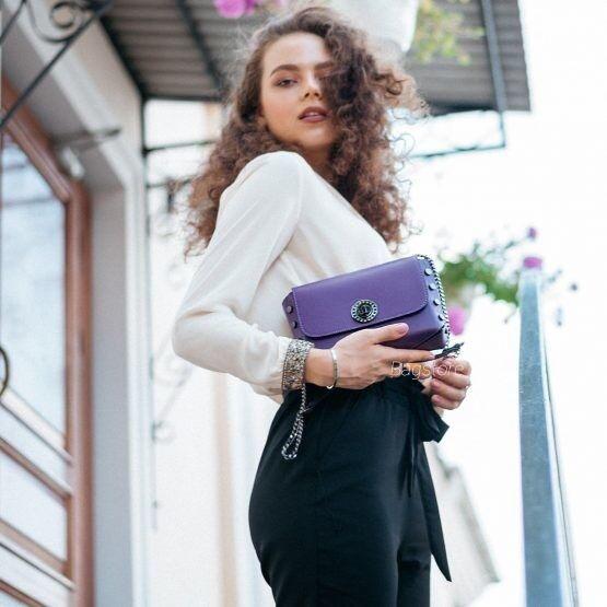 Магазин сумок Vezze Кожаная женская сумка C00517 - фото 1
