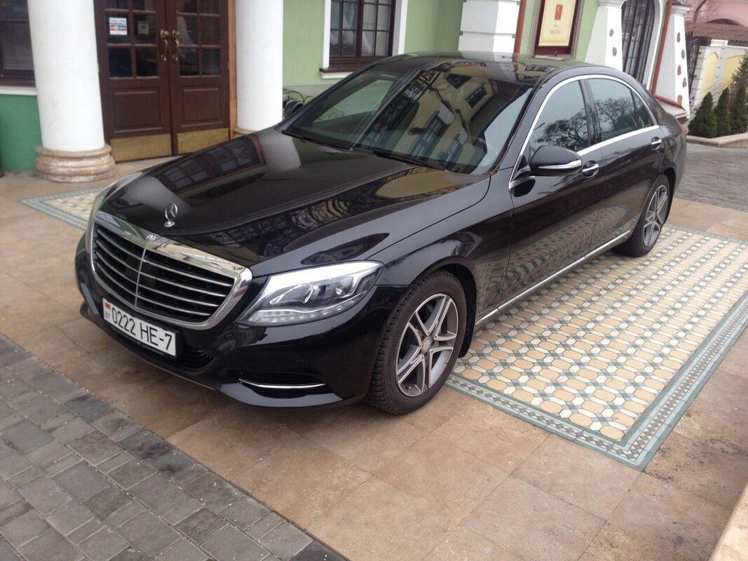 Аренда авто Mercedes-Benz W222 Лонг Черный - фото 3