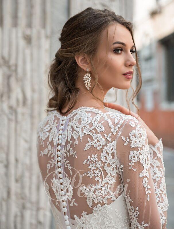 Свадебное платье напрокат Lavender Свадебное платье Jannyfer - фото 1