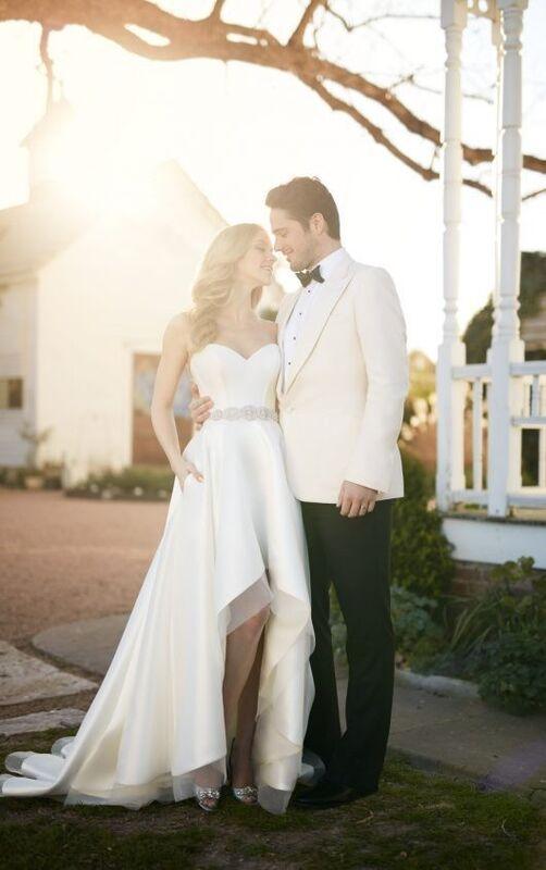 Свадебное платье напрокат Essense of Australia Платье свадебное Carter Sia - фото 5