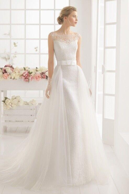 Свадебное платье напрокат Rosa Clara Платье свадебное Marquesa - фото 1
