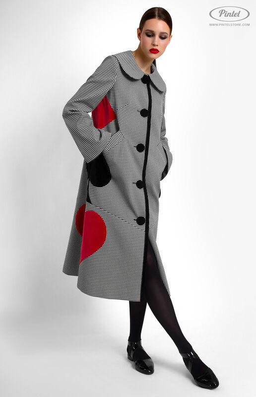 Верхняя одежда женская Pintel™ Однобортное пальто Samióna - фото 1