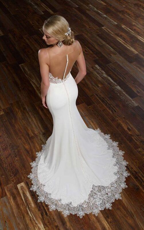 Свадебное платье напрокат Essense of Australia Платье свадебное 775 - фото 4