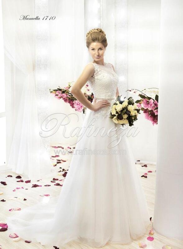 Свадебное платье напрокат Rafineza Свадебное платье Manuella - фото 1