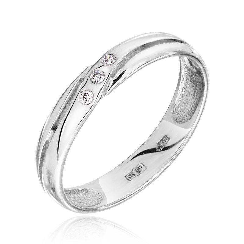 Ювелирный салон Jeweller Karat Кольцо обручальное с бриллиантами арт. 7213784 - фото 1