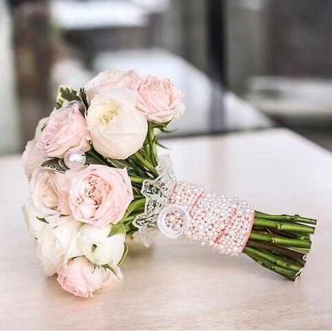 Магазин цветов Кошык кветак Букет свадебный №2 - фото 1
