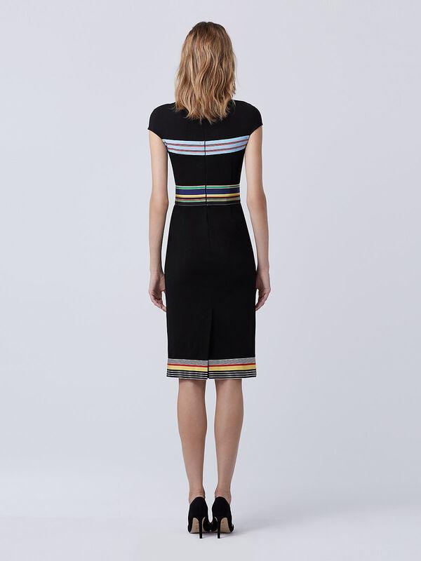 Платье женское Diane von Furstenberg Платье женское в полоску - фото 4