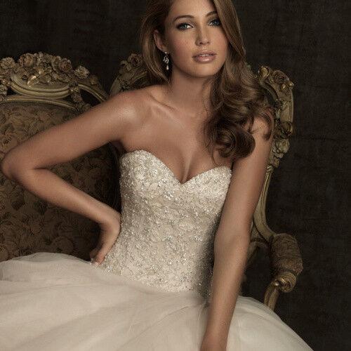 Свадебное платье напрокат Allure Bridals Платье свадебное 8901 - фото 3