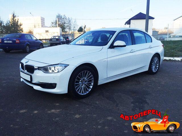 Прокат авто BMW 320 F30 2014 г.в. - фото 1