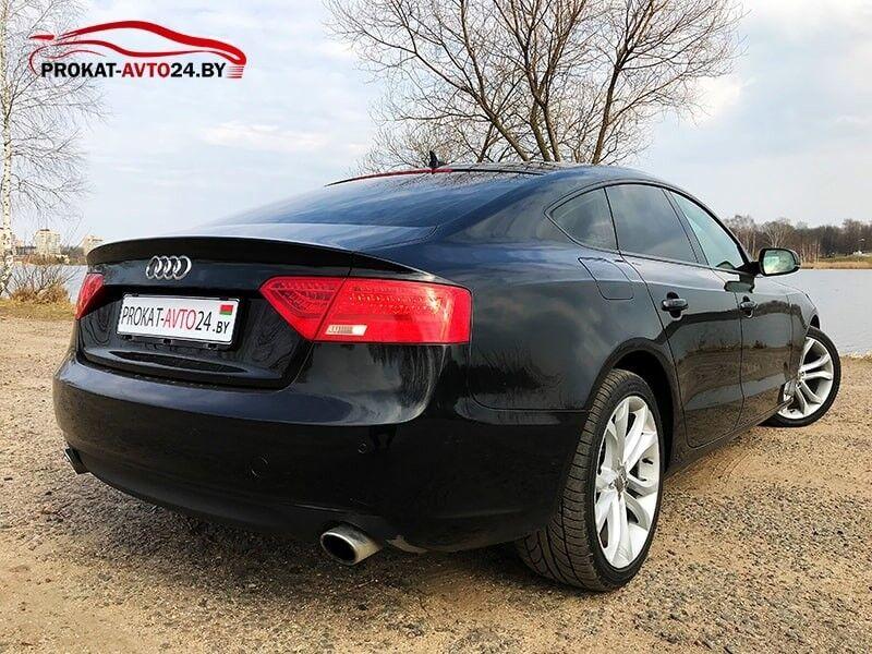 Прокат авто Audi A5 Sportback 2015 - фото 5