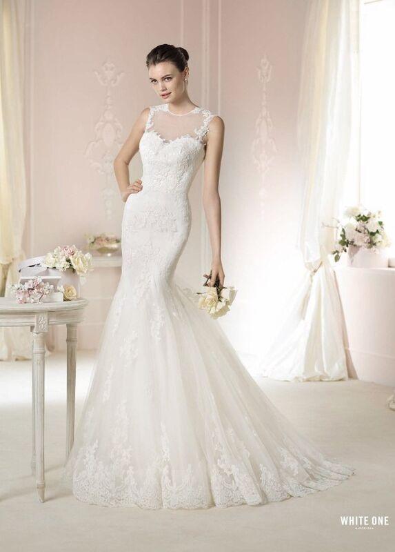 Свадебное платье напрокат White One (Pronovias) Платье свадебное «Daimi» - фото 1