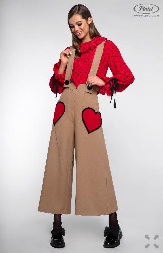 Костюм женский Pintel™ Комплект из блузы и брюк Manolis - фото 5