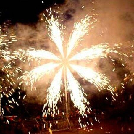 Фейерверк АртЭффект Наземная фигура «Солнце» - фото 1